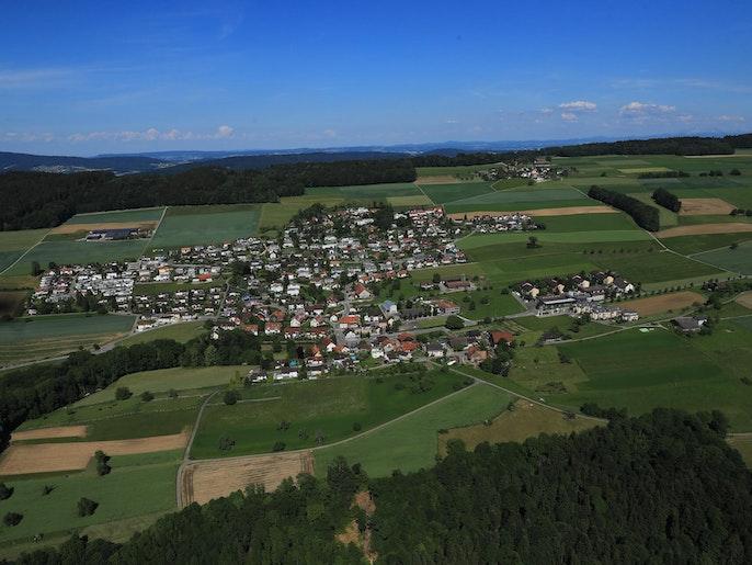 Luftaufnahme Remetschwil
