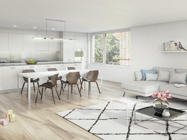 Wohnen-/Küche 4.5-Zimmerwohnungen