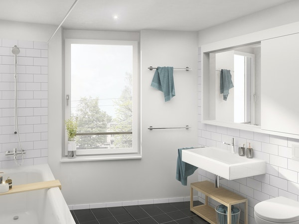 Badezimmer 3.5-Zimmerwohnung(1.OG)