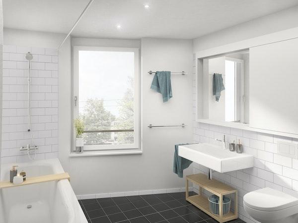 Badezimmer 3.5-Zimmerwohnung