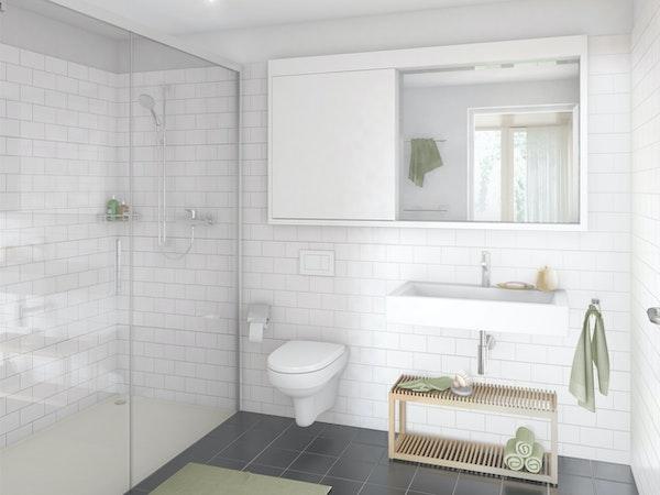 Badezimmer 4.5-Zimmerwohnung