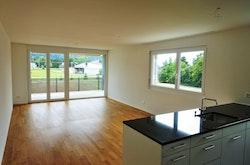 Wohnen, Essen, Küche, Balkon
