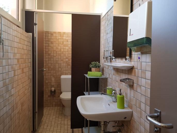 Toilette Frauen