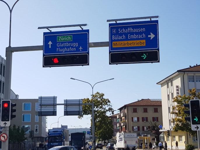 Autobahnanschluss gleich um Ecke