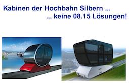 Mögliche Kabinen de Hochbahn