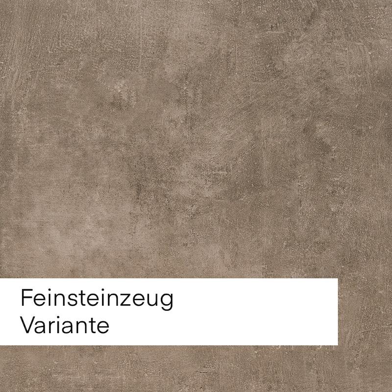 Bild mit Beispiel mit braunem Feinsteinzeug für die Auswahl im Innenausbau.