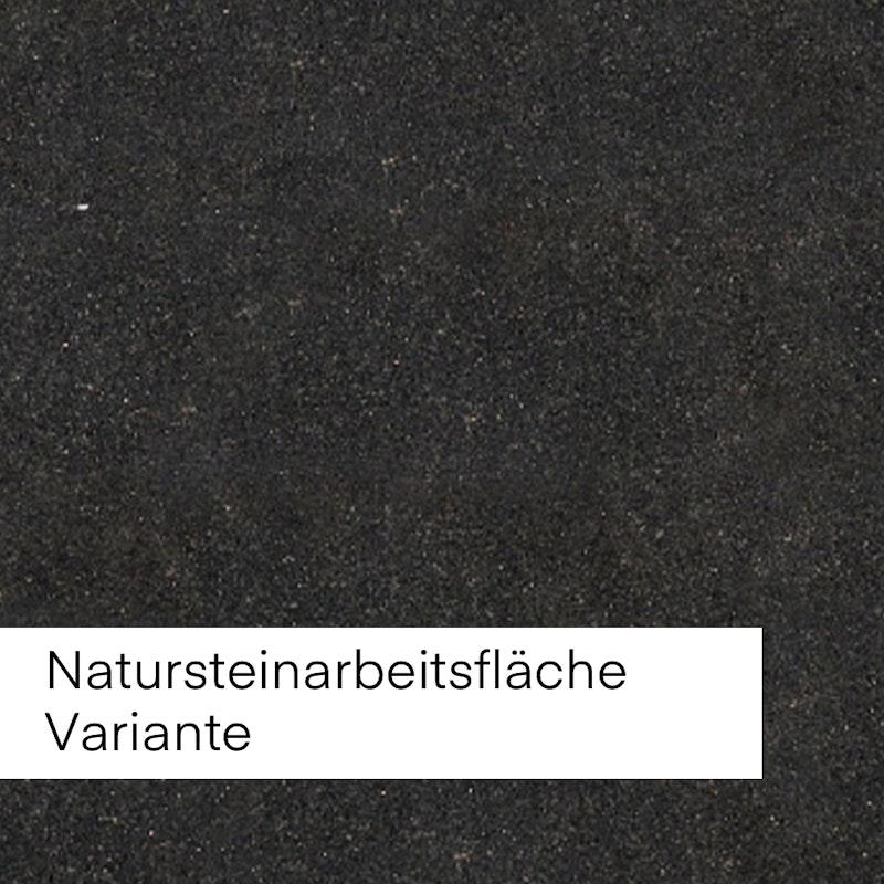 Bild mit Beispiel Natursteinfläche in dunkler antthraziter Farbe.