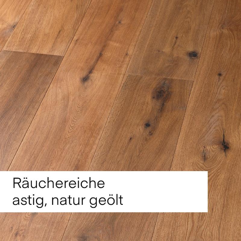 Bild mit Beispiel für Boden aus gebeiztem Holz zur Auswahl.