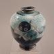 Vase by Menelika, marked MK 4237 D15.5 cm H20.5cm