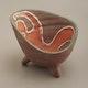 France ceramic vide-poche by Accolay ca. 1958