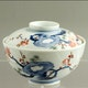 Bowl&Cover, Kakiemon decoration, probably Sakaida family, ca 1955) D12cm, one of 10
