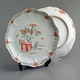 Plates with overglazed Kakiemon decoration, D24cm, not marked (2 of 10)