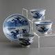 China Jingdezhen porcelain, set, Kangxi period ca. 1690