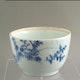Cup Edo period, Kanzan? H8cm D12.5cm. Handpainted underglaze decoration