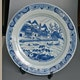 China 18th century or older blue and white export plate