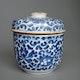 Japan, lidded jar, early Edo Arita porcelain, ca. 1690