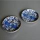 Japan small dishes, pair, ca. 1790, Arita porcelain