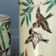 Detail handpainted Seiji Kaisha vase