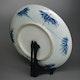 Dish (back) Arita porcelain, late Edo period