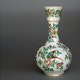 Vase enamelled Jingdezhen porcelain, ca. 1790?, not marked. D14cm, H25.5cm