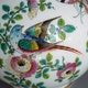 China Jingdezhen enamelled porcelain vase of very high quality.