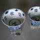 China Kangxi Jingdezhen export porcelain cups.