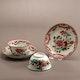 Cups&saucers Jingdezhen export ware, very hihg quality, ca. 1760, cup: D7.5cm H4cm, saucer: D11.5cm, H2cm
