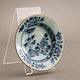 China Jingdezhen export porcelain, underglaze blue decoration, ca. 1750.