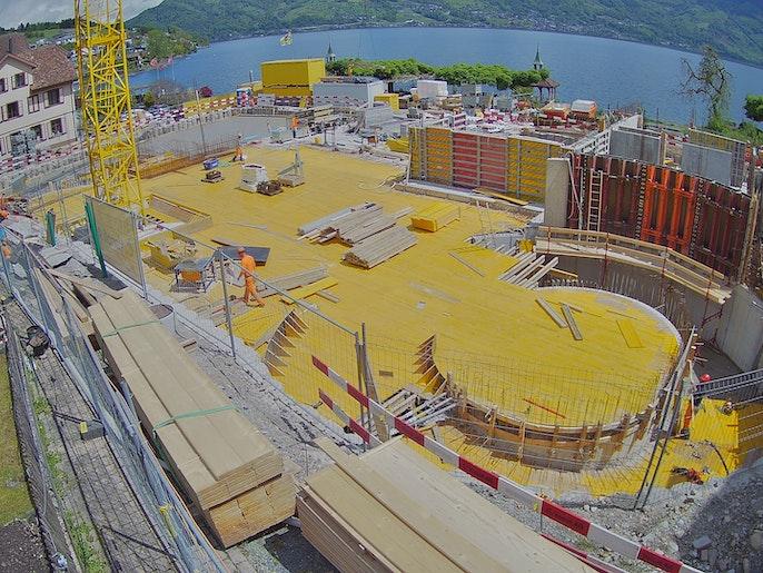 Baufortschritt vom 18. Mai 2021