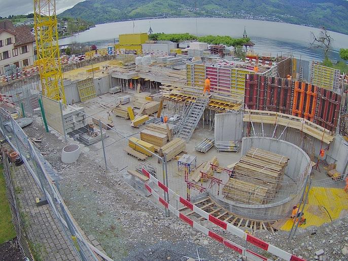 Baufortschritt vom 5. Mai 2021