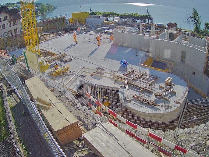 Baufortschritt vom 31. Mai 2021