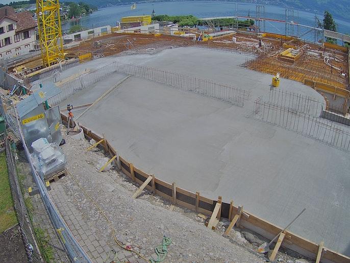 Baufortschritt vom 28. Juni 2021