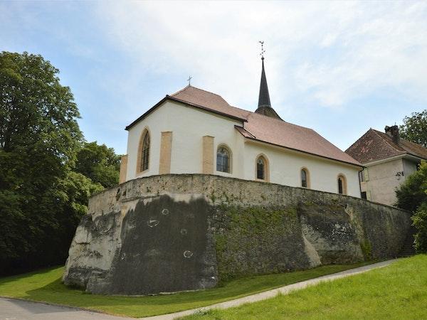 Eglise de la paroisse de Carignan-Vallon