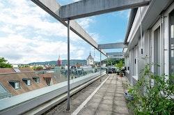 Übre den Dächern von Baden