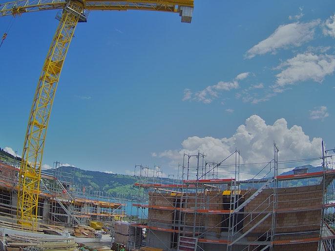 Baufortschritt vom 2. August 2021
