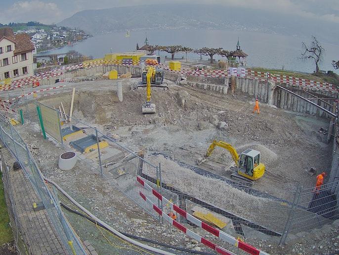 Baufortschritt vom 8. März 2021