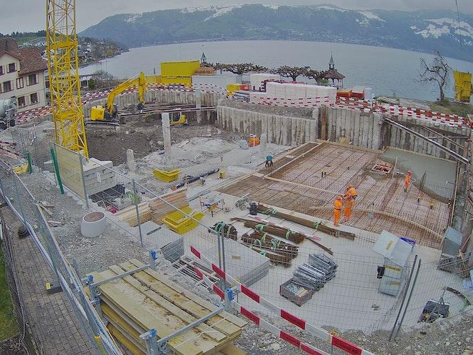 Baufortschritt vom 22. März 2021