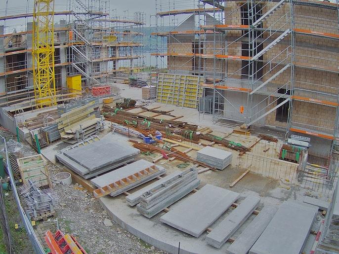 Baufortschritt vom 30. August 2021