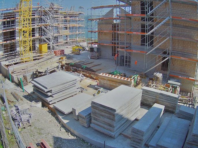 Baufortschritt vom 13. September 2021
