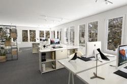 Möglicher Ausbau Büro 1