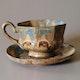 Teacup by Gilbert Métenier, around 1910 H8cm