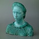 Bust by Dante Morozzi 1949, Noverraz workshop (n/a collection C.M.)