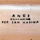 Mark Angi plate, San Marino