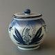 Jar for tobacco by Ziegler, Schaffhausen H17 D17cm